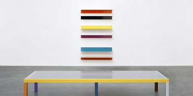 see furniture of Liam Gillick