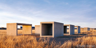 see furniture of Donald Judd