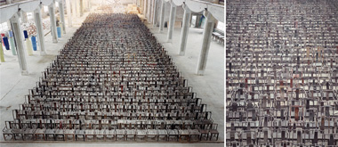 see furniture of Ai Weiwei