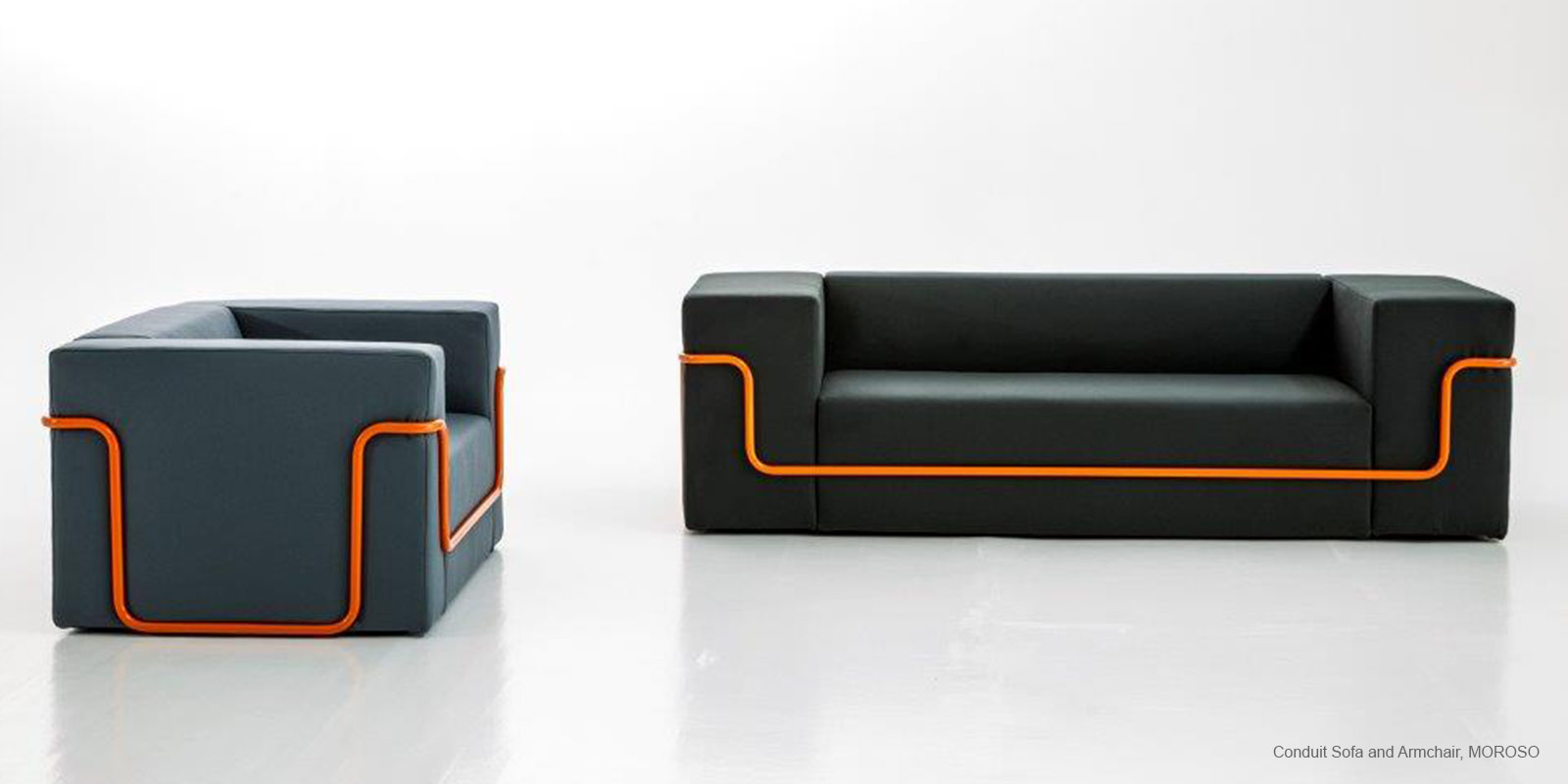 Conduit Sofa and Armchair, MOROSO